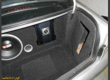 Оформление багажника ВАЗ 2110