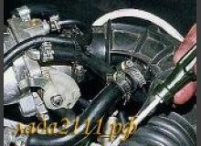 Доработка системы вентиляции картера ВАЗ 2110