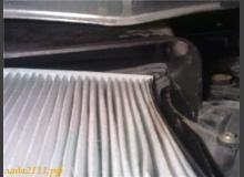 Как избавится от щелей воздушного фильтра салона