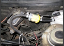 Установка фильтра охлаждающей жидкости в ВАЗ 2110