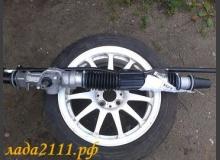 Короткая рулевая рейка на ВАЗ 2110 (установка, плюсы и минусы)