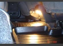 Подсветка пола задних пассажиров ВАЗ 2110