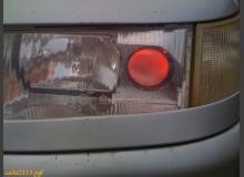Подсветка линз фар автомобиля