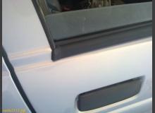 Установка уплотнителей стекол дверей Приоры на ВАЗ 2110