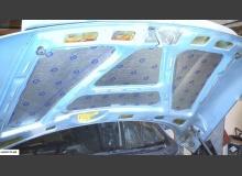 Шумоизоляция капота ВАЗ 2110