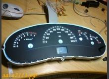 Дублирующие кнопки управления дисплеем панели приборов