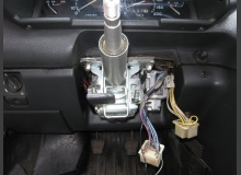 Установка ЭУР (электроусилителя руля) в ВАЗ 2110
