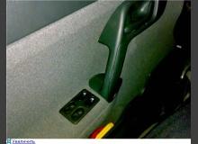Перенос кнопок ЭСП с тоннеля в дверь ВАЗ 2110