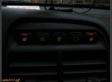 Перенос кнопок подогрева сидений на европанель