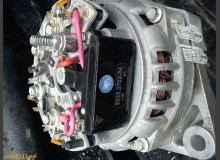 Замена регулятора напряжения на генераторе (со старого образца на нового)