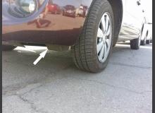 Аэродинамические щитки колес на ВАЗ (назначение и установка)