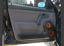 Изготовление подиумов в двери ВАЗ 2110