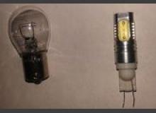 Установка цоколя PY21W в безцокольные светодиодные лампы