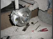 Задние дисковые тормоза ВАЗ 2110