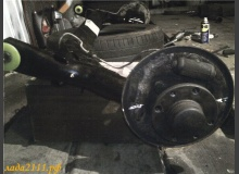 Замена задней балки ВАЗ 2110 на балку от Приоры