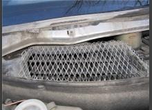 Защита фильтра салона (воздухозаборника)