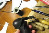 перетяжка ручки КПП своими руками