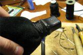 кожаная ручка КПП ВАЗ 2110