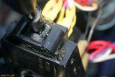 прокладка из жести при установке подрулевого переключателя