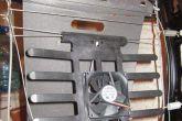 установка вентиляторов в каркас сидений автомобиля