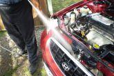 чистка радиатора керхером