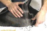 Покрываем деталь карбоном