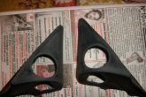 треугольники зеркал обработаны шкуркой