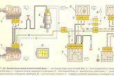 схема подключения омывателя фар ваз 2110