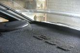 акустическая полка из фанеры для ВАЗ 2112