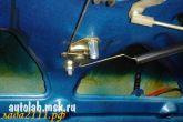кронштейн рычага привода замка ВАЗ 2112
