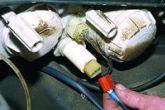 подключаем электрокорректор к жгуту проводов