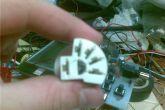 Пустая 5-ти контактная силовая колодка