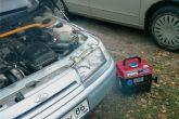 зарядка АКБ ВАЗ 2110 от бензогенератора