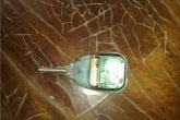 закрепляем ключ в брелке холодной сваркой