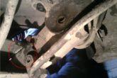 элементы крепления задней балки ВАЗ 2110
