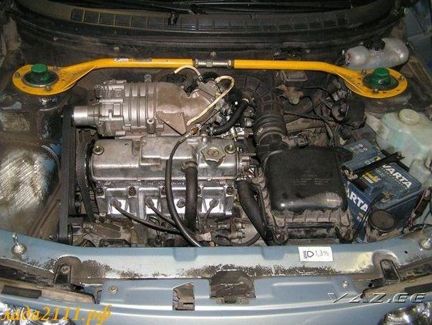 компрессор на ВАЗ от иномарки