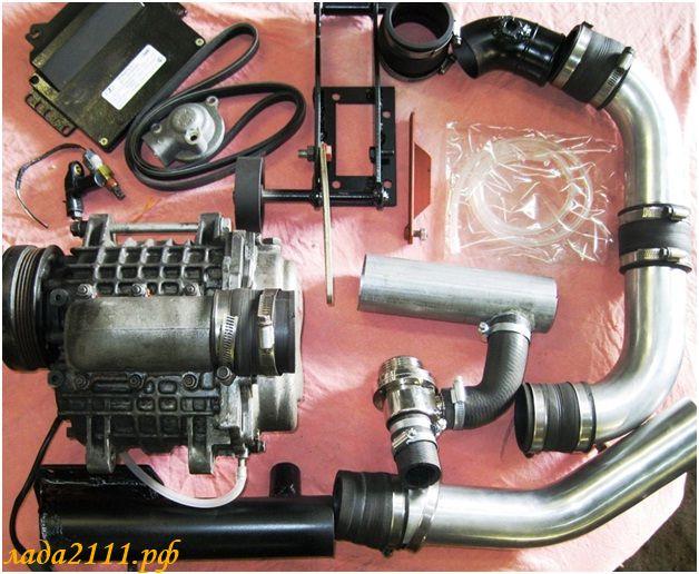 комплект компрессора sc-vaz