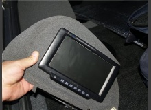 Телевизор в подголовник ВАЗ 2110