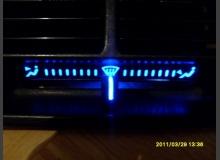 Подсветка шкалы расположения заслонки печки ВАЗ 2110