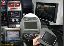 Варианты установки монитора в ВАЗ 2110
