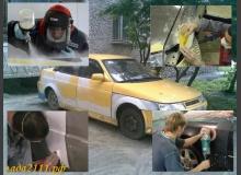 Ремонт кузова в гаражных условиях