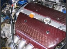 Тюнинг двигателя карбоном