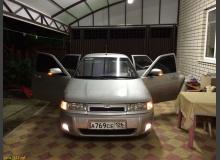Установка бампера SE от Приоры на ВАЗ 2110