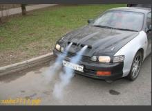 Как сделать струю дыма (пара) из ноздрей автомобиля