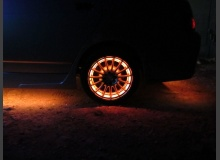Подсветка дисков ВАЗ 2110