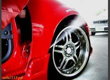 Бюджетный тюнинг, струи пара (дым) автомобиля