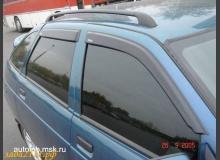 Установка рейлингов (багажника) на крышу ВАЗ 2110, ВАЗ 2112