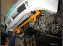 Установка «ромашек» в переднюю балку подвески ВАЗ