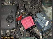 Установка фильтра нулевого сопротивления на ВАЗ 2110