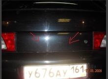 Устраняем дребезг задней накладки, замка, спойлера ВАЗ 2112